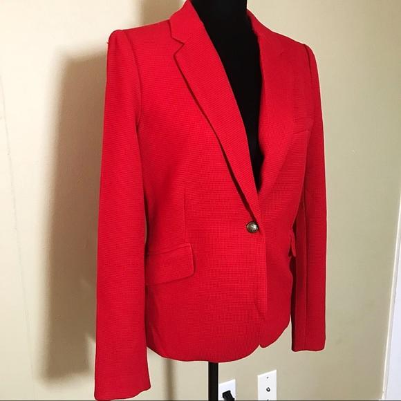 d98f17ba1 Bright red blazer women's size medium. M_5a5fb0c0a6e3ea1a6c88dd45.  M_5a5fb0c185e605432e6cd156. M_5a5fb0c39a945508c35cce60.  M_5a5fb0c4b7f72b3bdd0be7d0